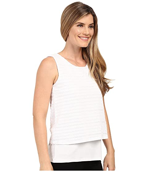 Double Stripe Top Klein Layer Textured Calvin twfqFE4c