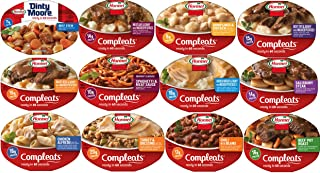 Hormel Compleats Meals – 12 Flavors Variety Box (7.5 Ounce to 10 Ounce Microwavable Bowls)