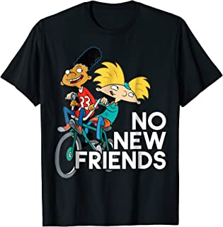 Hey Arnold! No New Friends T-Shirt