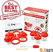 Best silicone boiled egg cooker Reviews