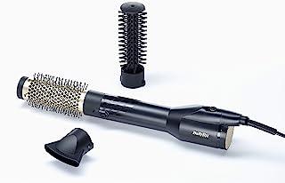 BaByliss BABAS125SDE Hair Air Brush, 1200W - Gold/Black