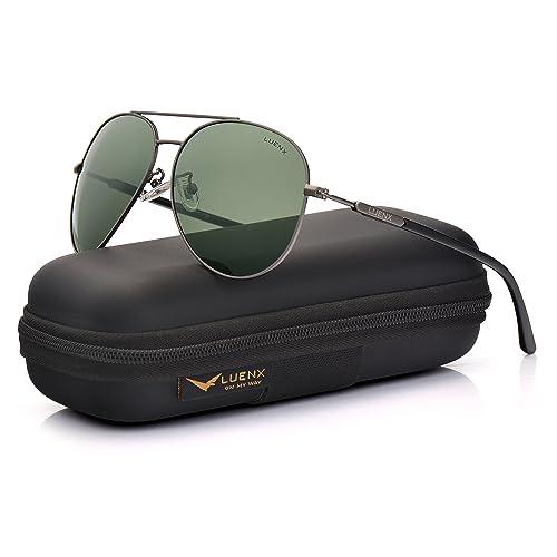 ce7ed449c Mens Sunglasses Polarized UV 400 Protection Fashion Style by LUENX