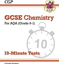 New Grade 9-1 GCSE Chemistry: AQA 10-Minute Tests (with answers) (CGP GCSE Chemistry 9-1 Revision)