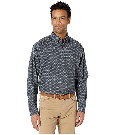 Ariat Flossmoor Stretch Print Shirt (Bold Ink) Men