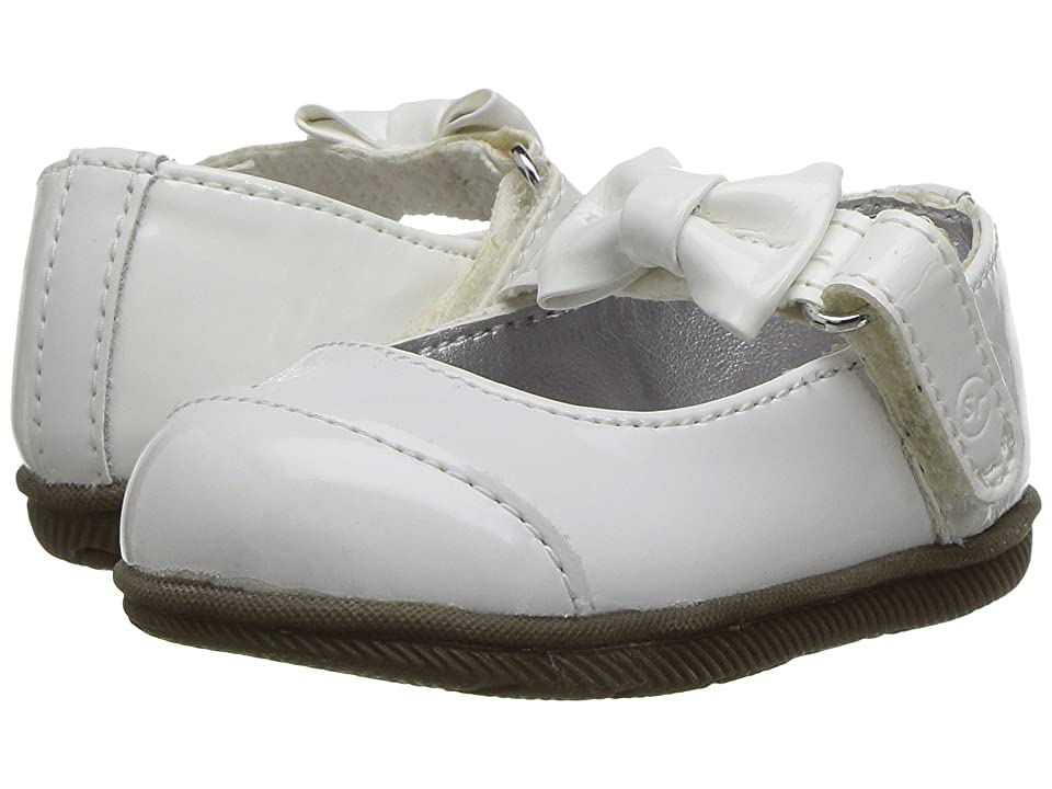 Stride Rite Mirren (Infant/Toddler) (White) Girl