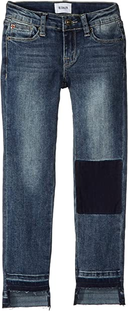 Hi-Lo Ankle Crop Skinny in Avant Wash (Big Kids)