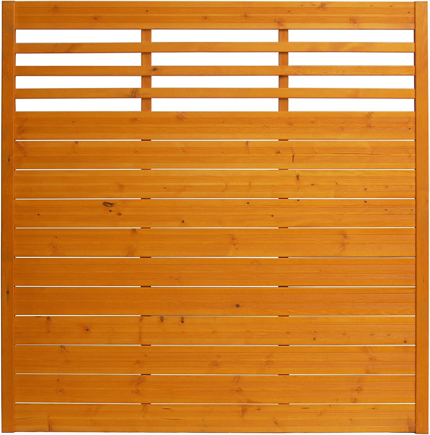 Andrewex wooden fence, garden fence, fencing panel 180 x 180, varnished, pinie