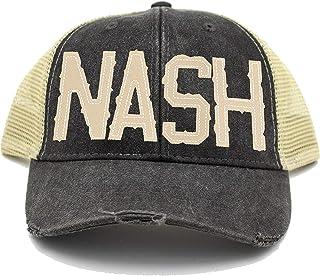 Cotton Mule NASH Black Trucker Hat