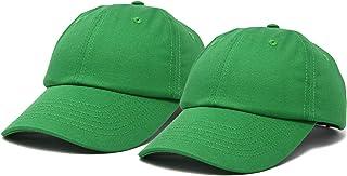 قبعات البيسبول للبنات والأولاد من DALIX قبعات بيسبول 2 لـ 1