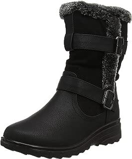 Womens Cushion Walk Spain Black Slip On Shoes VARIOUS SIZES!