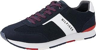 Tommy Hilfiger-FM0FM01956-Men-Low Cut Sneakers-MIDNIGHT-42 EU