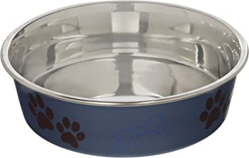 Loving Pets Metallic Bella Dog Bowl