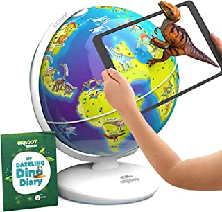 Orboot Dinos AR Globe by PlayShifu (App Based) - World of Dinosaur Toys, Educational Toy for Kids | Gift for Boys & Girls ...