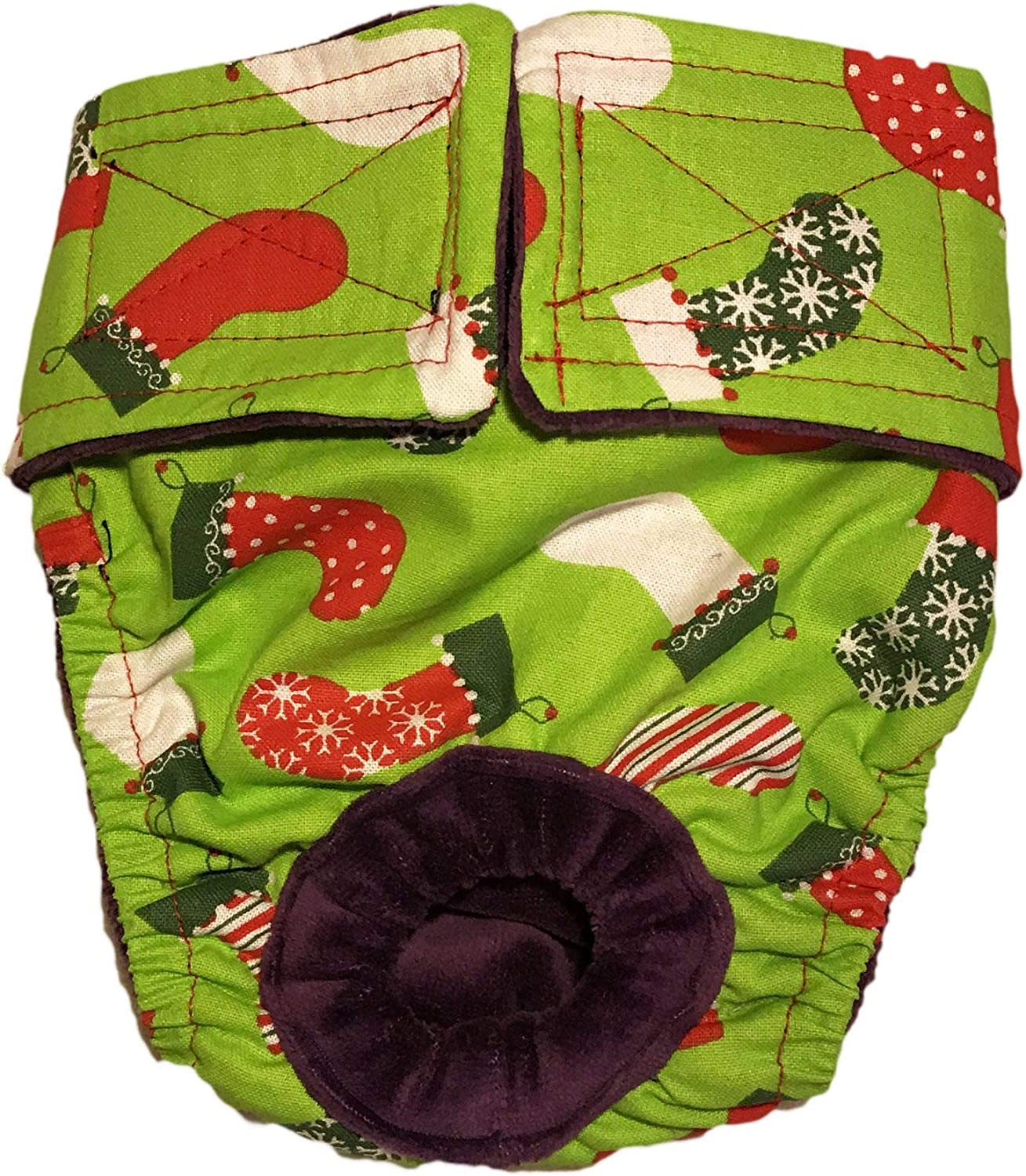 Barkertime Special price Dog Diapers - Max 84% OFF Made in on Gr USA Stockings Christmas