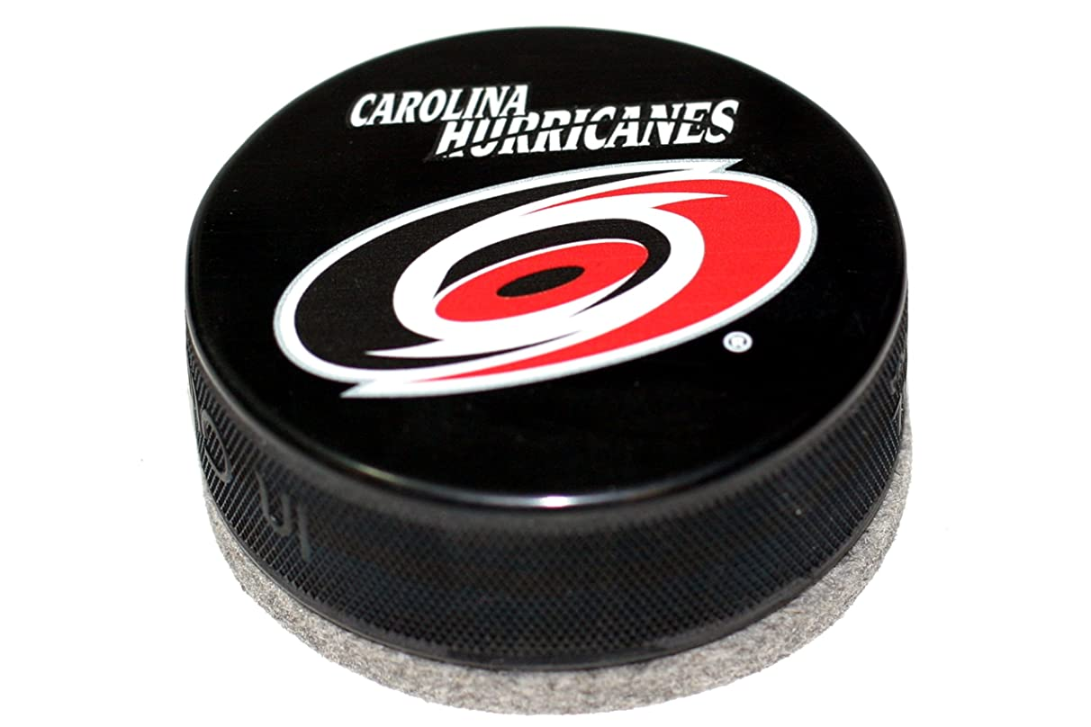 EBINGERS PLACE Carolina Hurricanes Basic Series Hockey Puck Board Eraser for Chalk Boards and Whiteboards