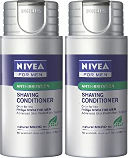 [2 Pack] Philips Norelco Moisturizing Shaving System, Refill System, HS800, 2.5 fl. oz., (75ml)