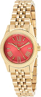 Michael Kors Lexington Watch for Women - Analog Stainless Steel Band - MK3284