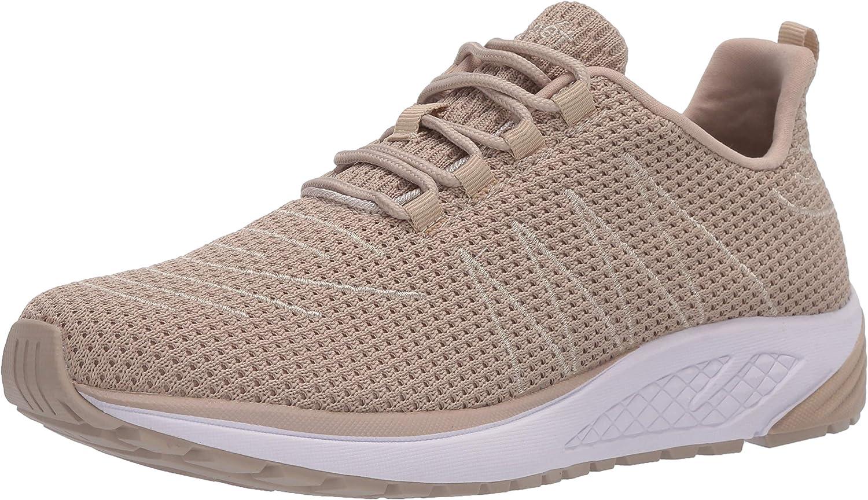 Propét Women's Tour Product Knit Sand Sneaker 10 favorite