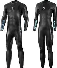 Synergy Triathlon Wetsuit 3/2mm - Volution Full Sleeve Smoothskin Neoprene for Open Water Swimming Ironman & USAT Approved
