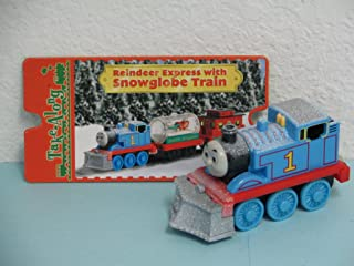 Take Along New 'Reindeer Express Thomas & Friends Train Die-cast Engine Loose Item Includes Exclusive Collector Card Retired Item