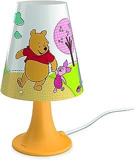 gelb Integrierte LED Ladestation 1 x 1 W Philips Disney SoftPal Nachtlicht Micky Maus Tischlampe