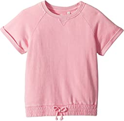 Cheri Cinched Crewneck Top (Big Kids)
