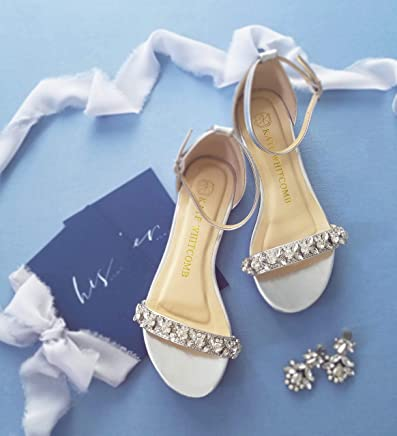 8c7ad4f6d90 Flat Wedding Shoes - Style Sisley in Silver