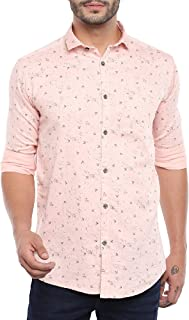 Kevin Swift Floral Print Cotton Full Sleeve Shirt