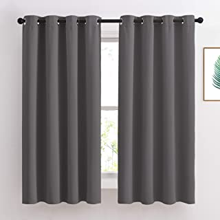 NICETOWN Bedroom Blackout Curtains Panels - Window Treatment Thermal Insulated Solid Grommet Blackout for Living Room (Set...