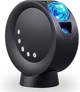 پروژکتور ستاره ای NXENTC ، چراغ پروژکتور ستاره ای با 9 حالت روشنایی Control از راه دور و چراغ های پروژکتور Galaxy با قابلیت تنظیم 300 درجه برای اتاق / اتاق خواب / سینمای خانگی / مهمانی (سیاه)