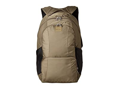 Pacsafe Metrosafe LS450 Anti-Theft 25L Backpack (Earth Khaki) Backpack Bags