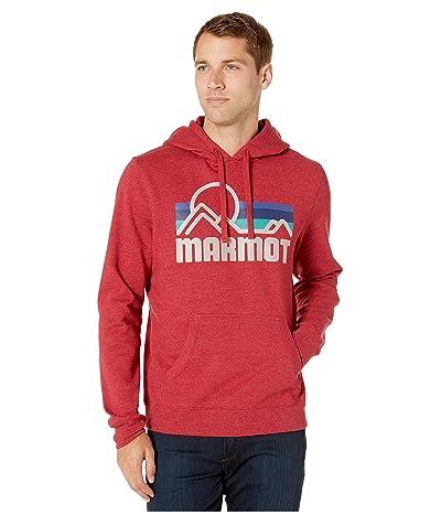 Marmot Coastal Hoodie (Brick Heather) Men