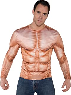Underwraps Men's Photo Real Shirt - Muscles Padded