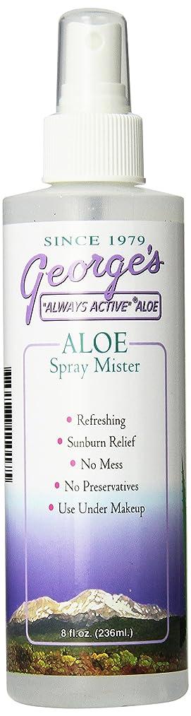 第四報告書開示する海外直送品 George's Aloe Vera Aloe Vera Spray Mister, 8 oz