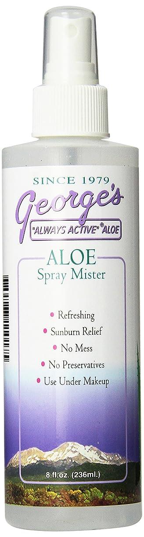 ボウリング火山学者追い払う海外直送品 George's Aloe Vera Aloe Vera Spray Mister, 8 oz