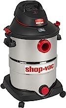 Shop-Vac 5989500 12 gallon 5.5 Peak HP Stainless Wet Dry Vacuum, Black