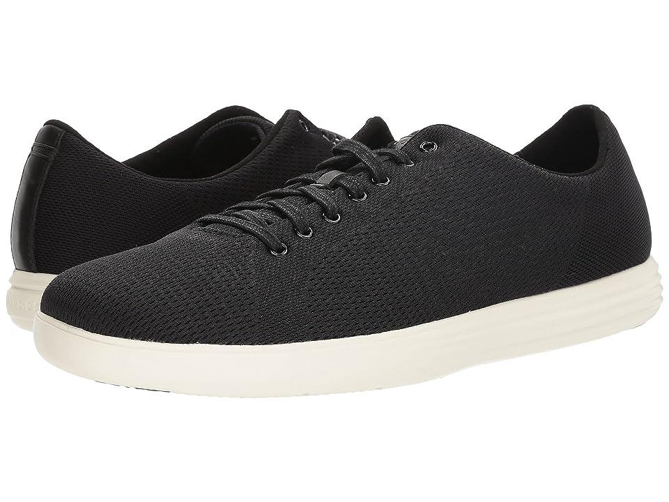 Cole Haan Grand Crosscourt Knit Sneaker (Black Knit) Men