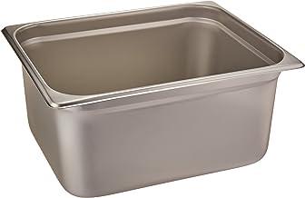 Winco Anti-Jamming Steam Pan, Half-Size x 6-Inch, Standard Weight,Stainless Steel,Medium