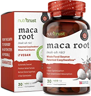 Maca Root 400iu Capsules by Nutritrust® - Sourcing en polvo