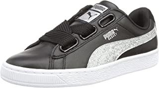 Puma basket patent iced glitter ps amazon shoes grigio