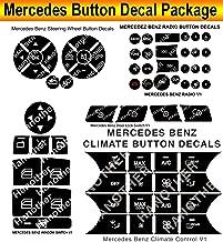 Mercedes Benz Button Premium Repair Package-Steering AC Locks Window Decals