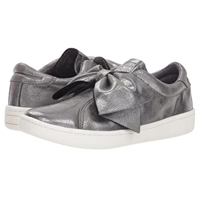 Keds Kids Ace Bow (Little Kid/Big Kid) (Grey Synthetic) Girls Shoes