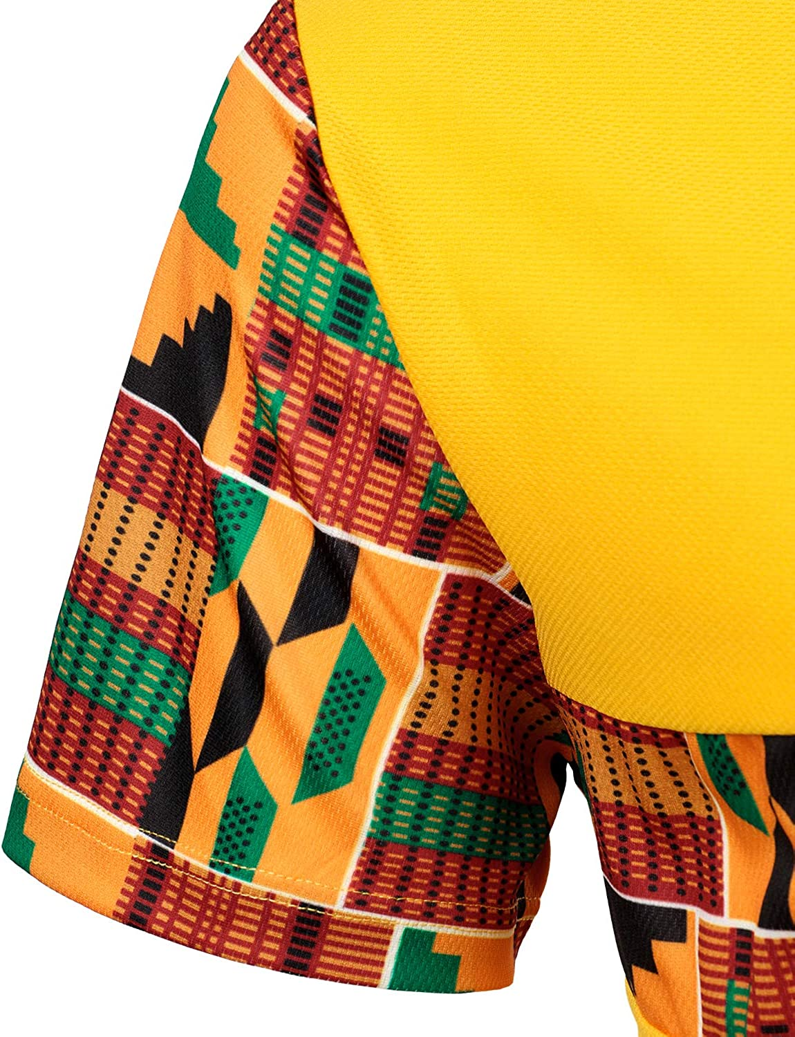 LucMatton Mens African Pattern Printed T-Shirt and Shorts Set Sports Mesh Tracksuit Dashiki Outfits