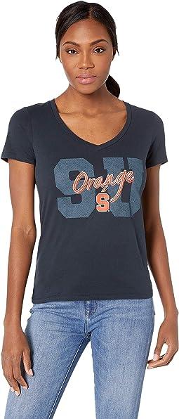 Syracuse Orange University V-Neck Tee