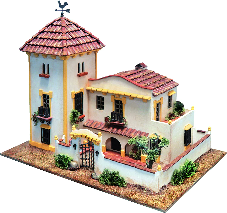 DOMUSKITS Domus Kits40954 Arquitectura Triana Houses Model, Scale 1 60, Multicoloured