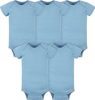 unisex-baby 5-pack Solid Onesies Bodysuits