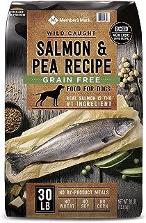 Member's Mark Exceed Grain-Free Dry Dog Food, Wild-Caught Salmon & Peas (30 lbs.)