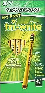 TICONDEROGA اولین مدادهای نوشتن سه گانه من