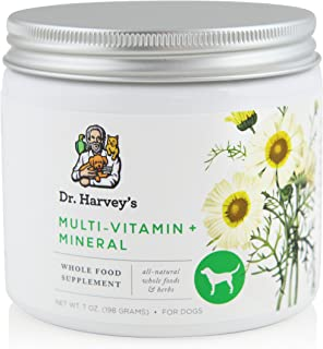 Dr. Harvey's Multi-Vitamin and Mineral Supplement - Herbal Supplement for Dogs, 7 oz. Jar