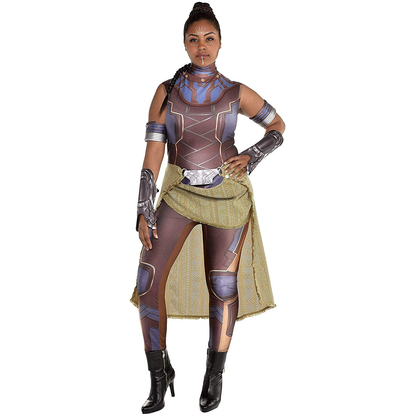 SUIT YOURSELF Shuri Halloween Costume for Women, Black Panther, Plus Size, Includes Accessories